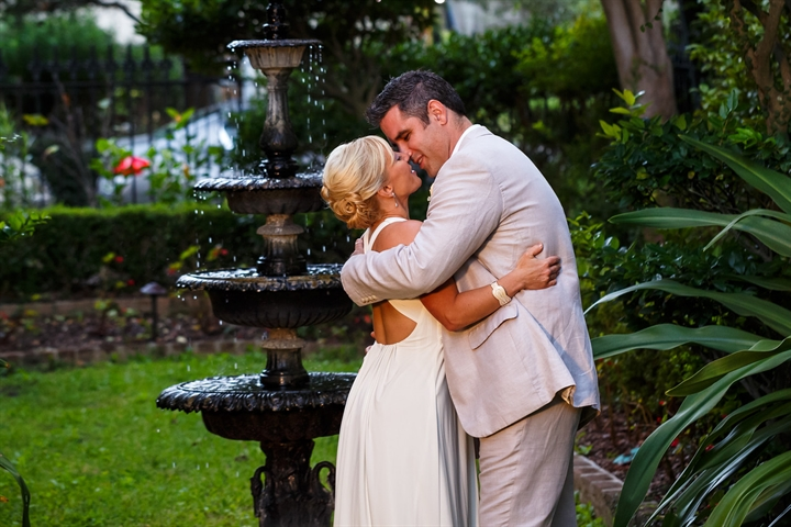 Romantic Savannah Garden Wedding
