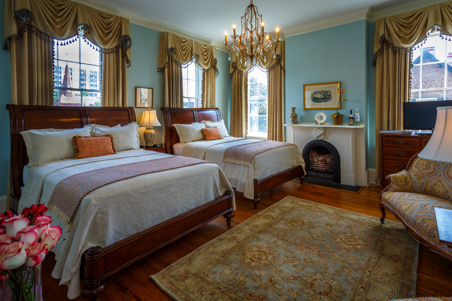 The Mary Telfair Guest Room at our Savannah Bed and Breakfast