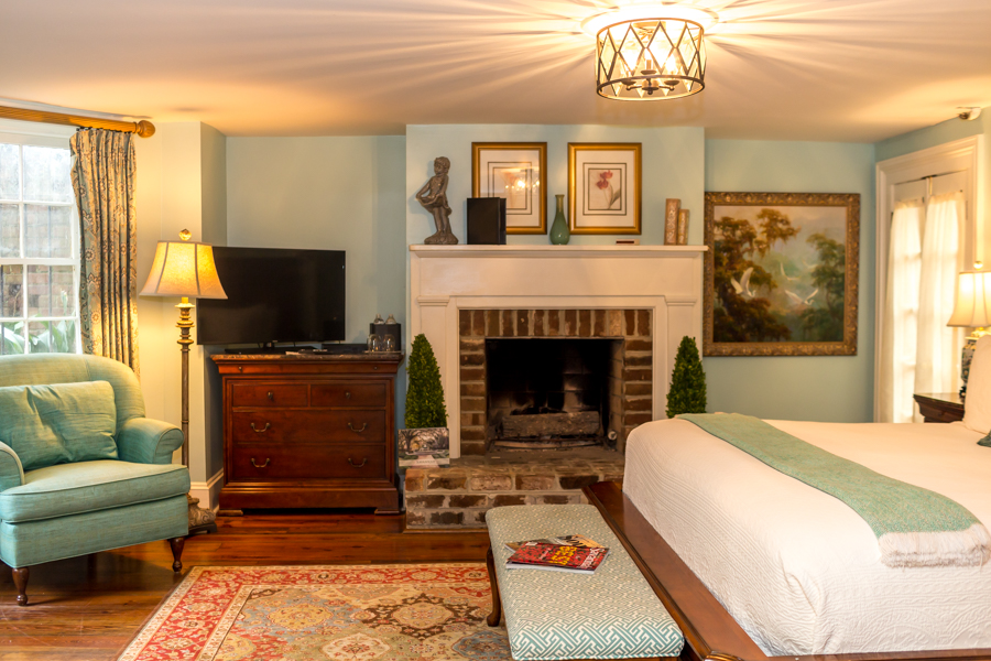 The Garden Guest Room in Savannah, GA