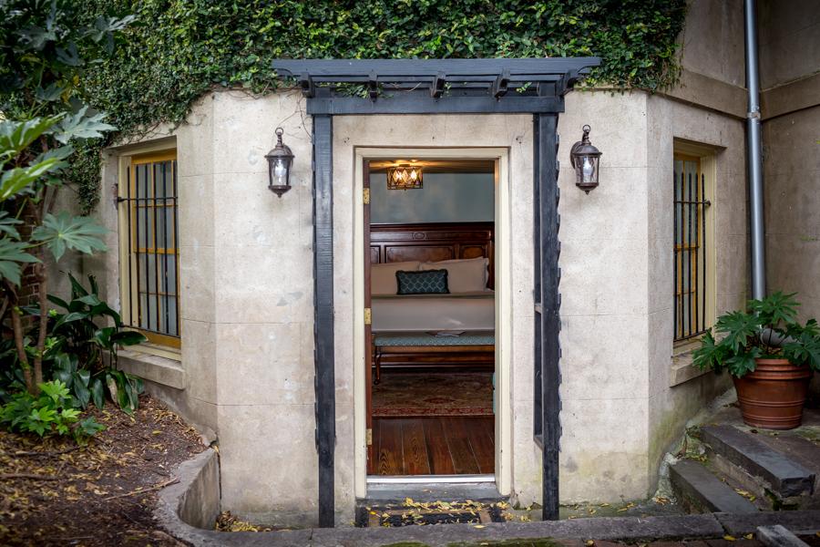 Entrance to The Garden Room