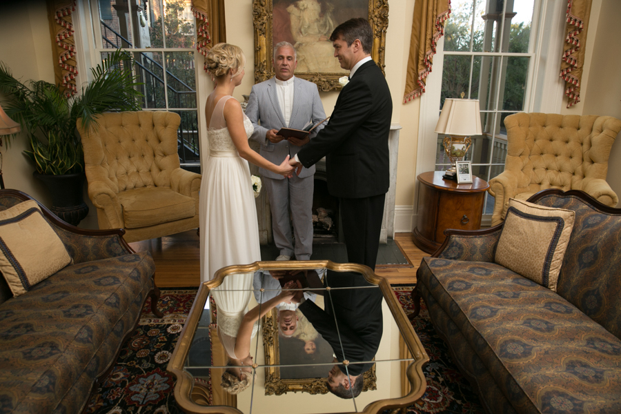 Savannah elopement at The Gastonian