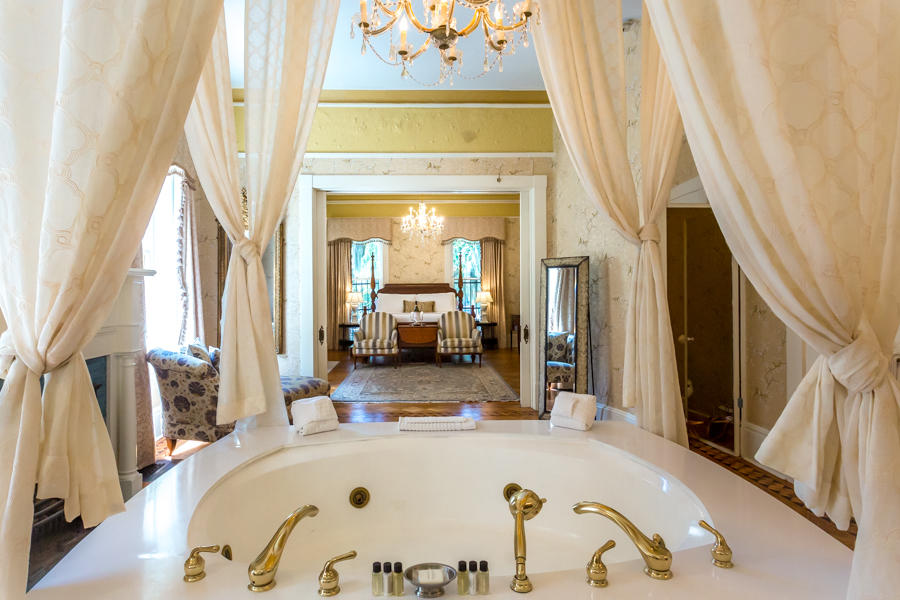 Caracalla - The Honeymoon Suite at our Savannah Bed and Breakfast