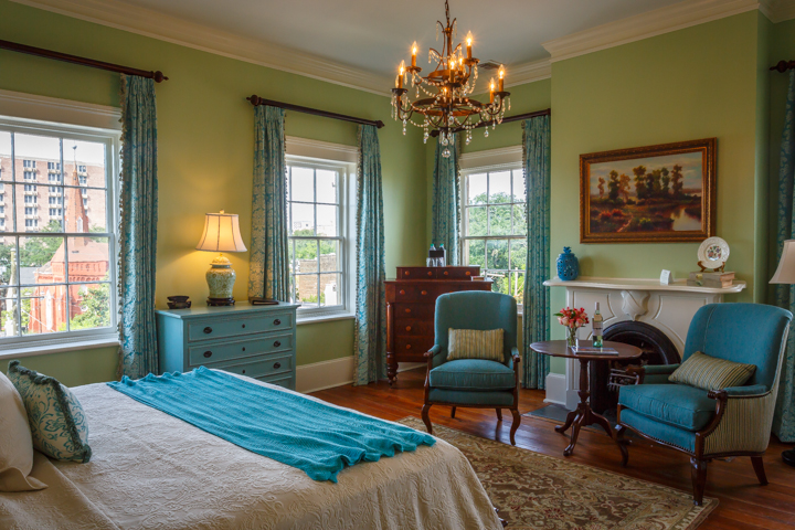 View of The Julia Scarborough Room at our Savannah Bed and Breakfast