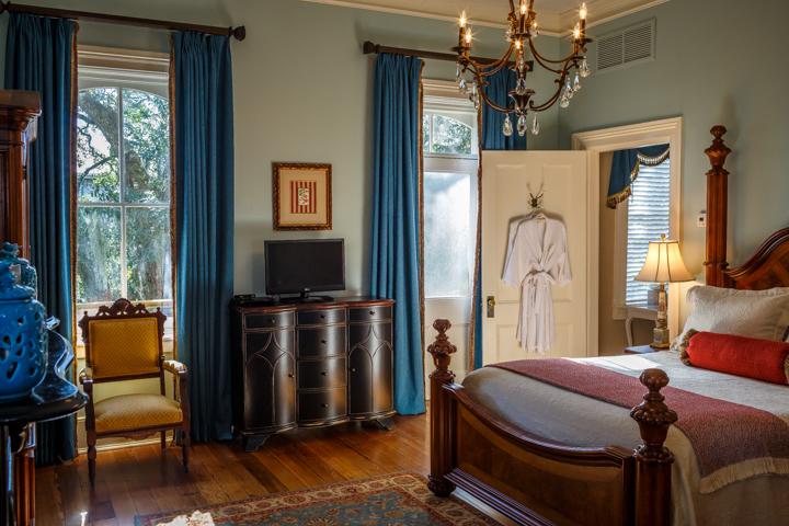 The Juliette Low Guest Room in Savannah, GA