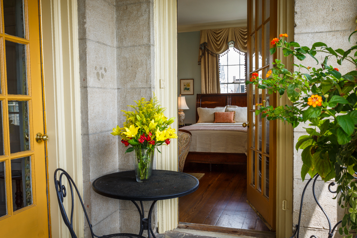 The Mary Telfair Room at our Savannah Bed and Breakfast