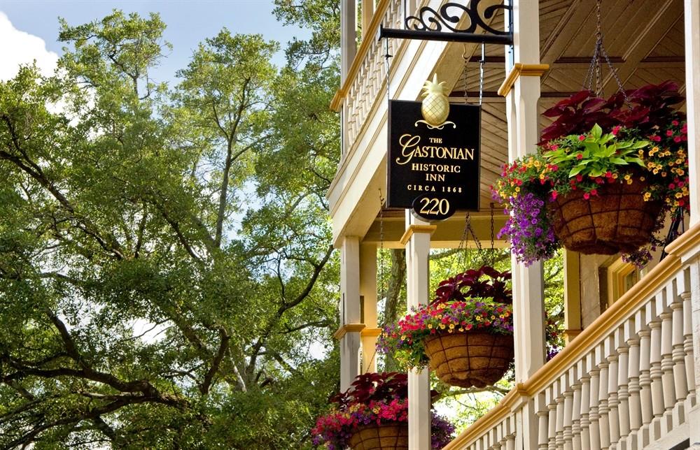 Gastonian Inn's Balconies