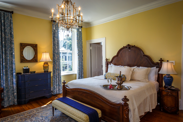 Casmir Pulaski Room at our Savannah Bed and Breakfast