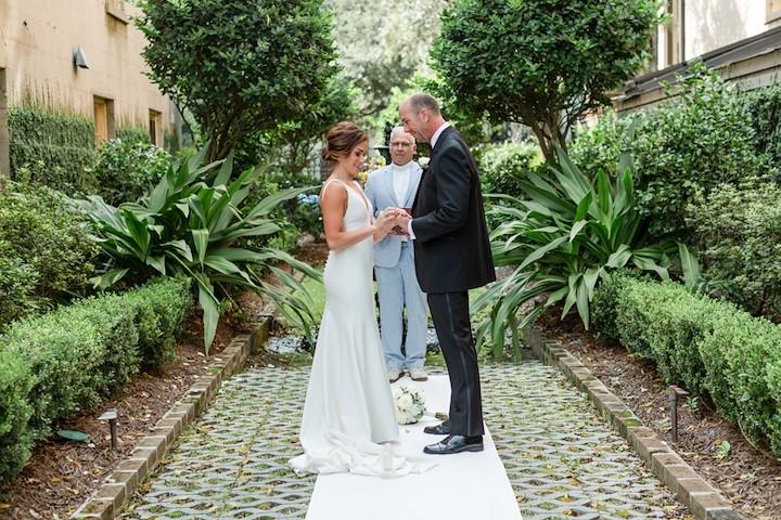 Romantic Savannah Garden Wedding