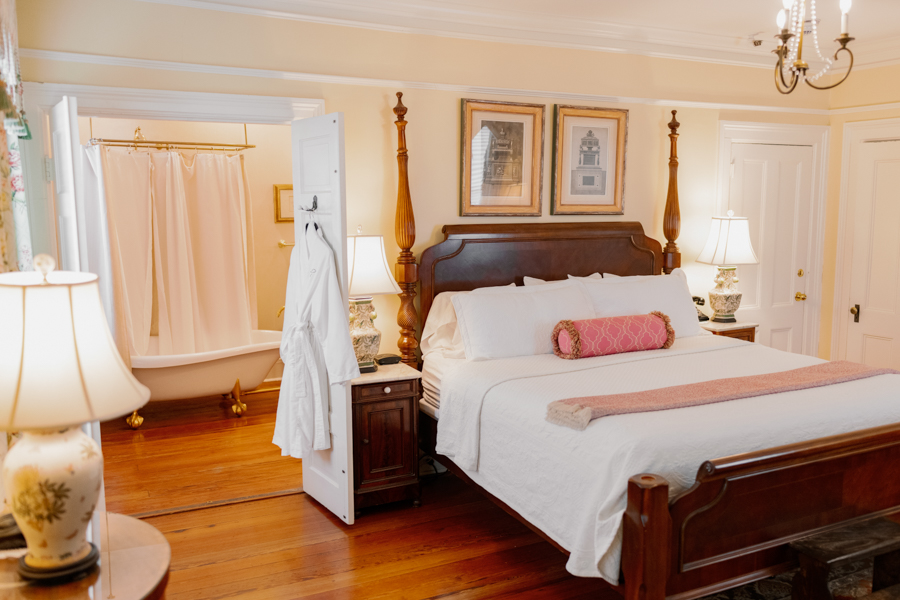 Inside our Savannah Bed and Breakfast Guest Rooms