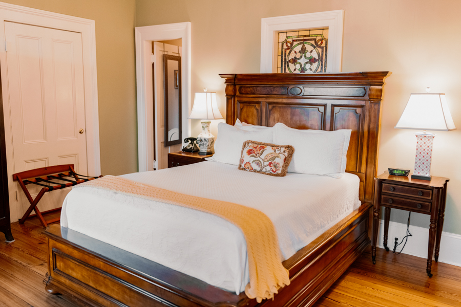 Mary Hillyer Guest Room at our Savannah B&B