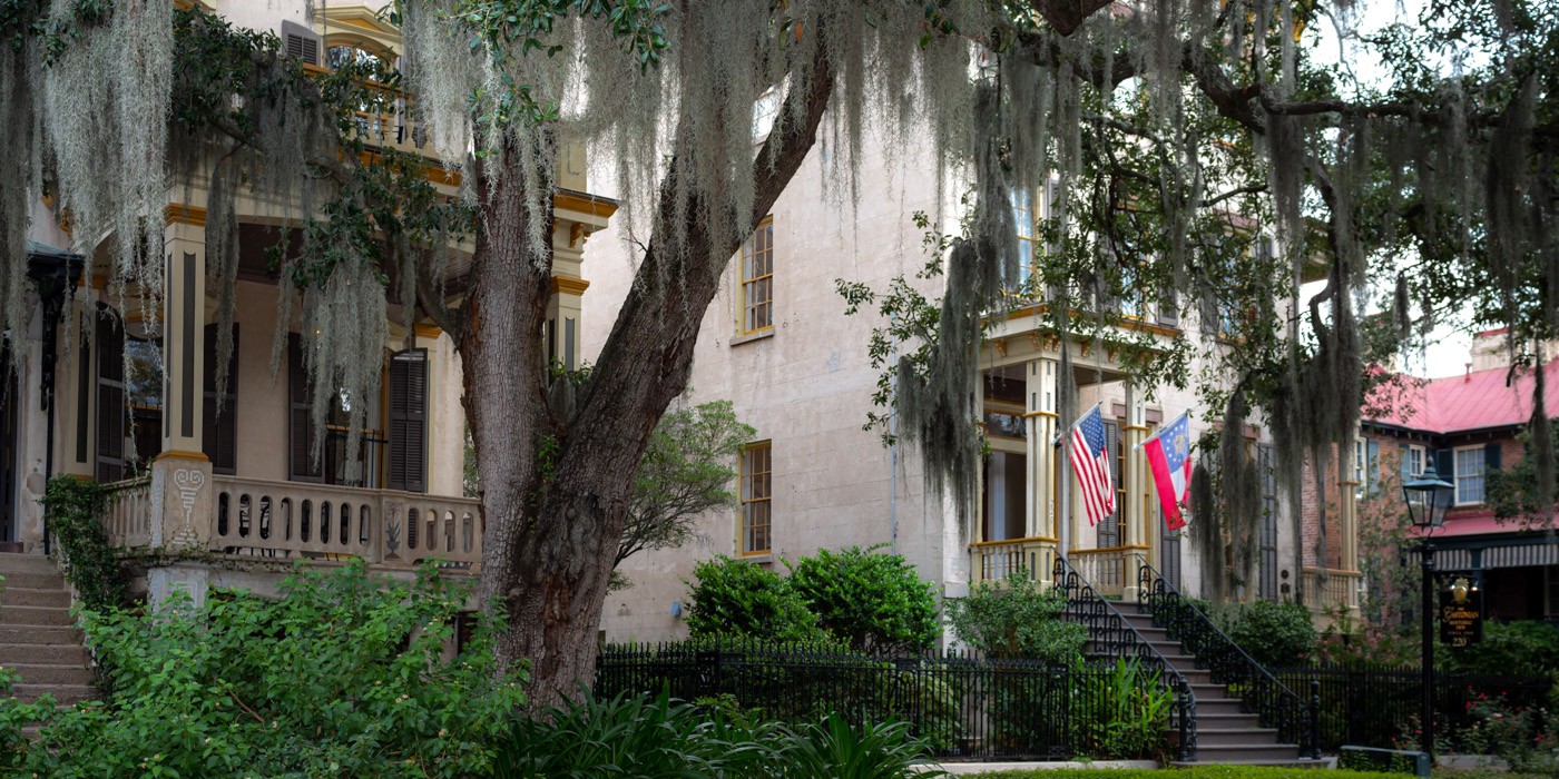 The Gastonian Bed and Breakfast in Downtown Savannah, GA