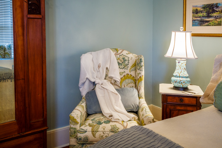 The Tomochichi Guest Room at The Gastonian B&B in Savannah