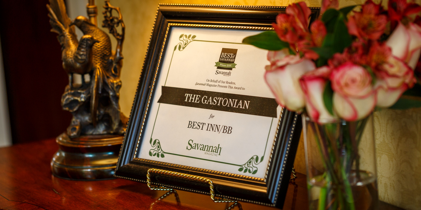 Accolades for The Gastonian